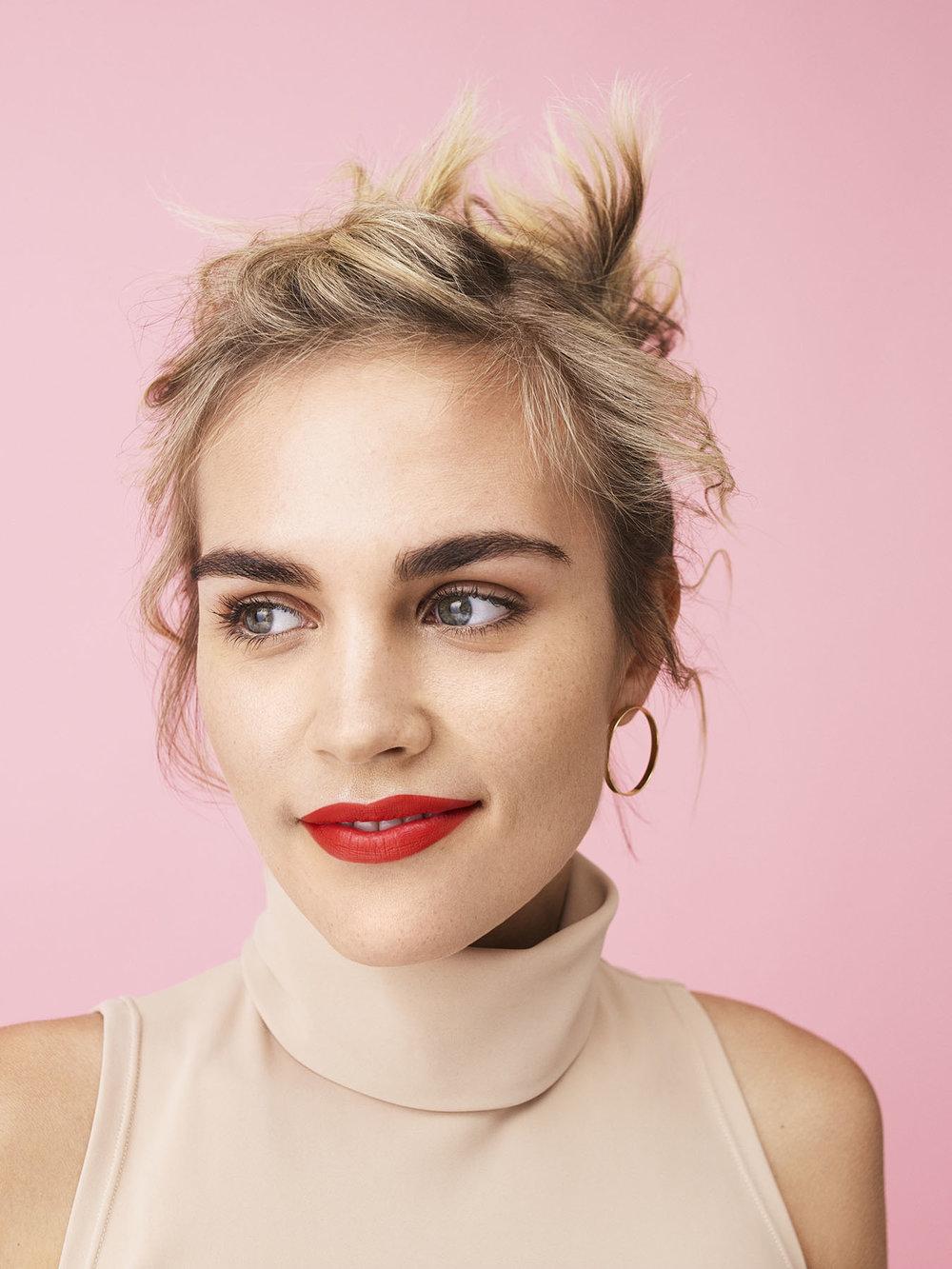 Photo: Nadya Wasylko  Hair: Jeanie Syfu  Makeup: Suzy Gernstein  Wardrobe: Morgan Gibbons  Manicure: Yukie Miyakawa  Model: Anastasia Eremenko