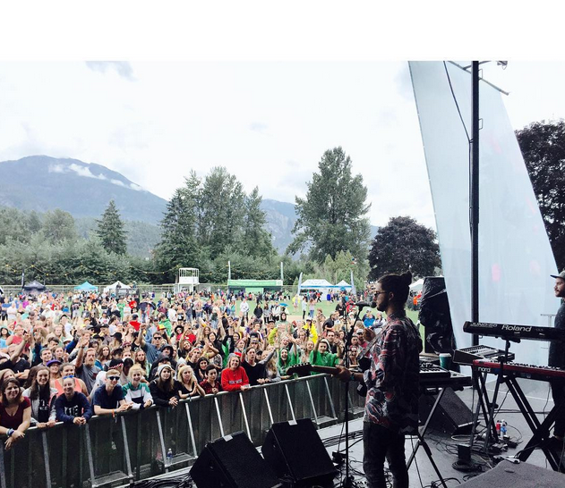 A really special show at Squamish Fest. T  hank you to everyone that brought the rad vibes, can't wait to do it again soon.