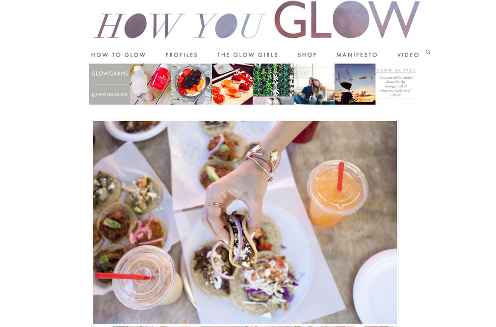 2014 How You Glow: Guisados