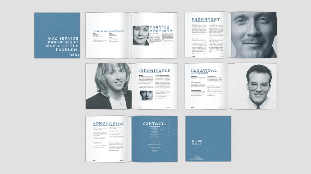 Versitec: B2B Brochure Design
