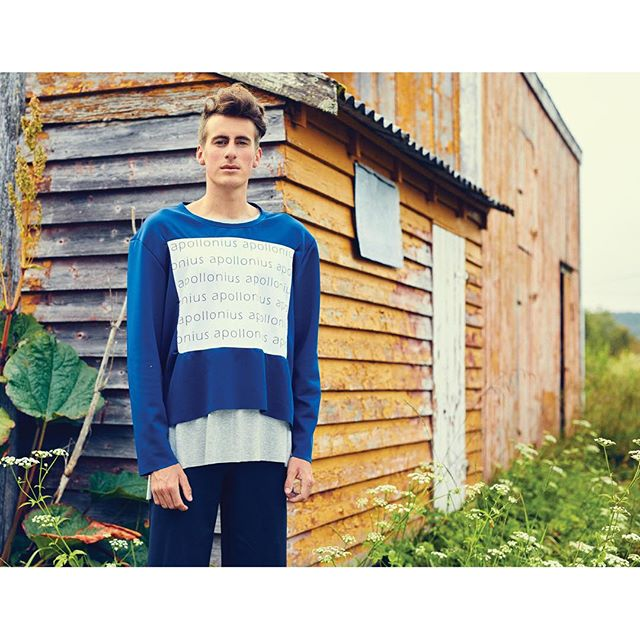 From our SS16 lookbook 📷 @callehuth #apolloniusclothing #visitnorway