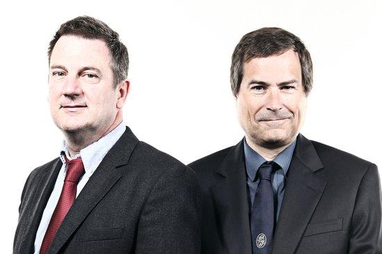 David Walsh, COO & David Braben, CEO