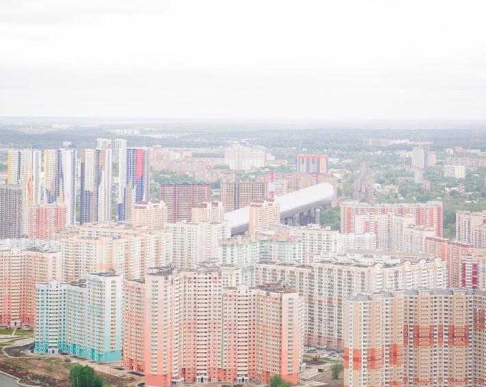 Rendering Moscow - imperium, ©Davide Monteleone, 2015