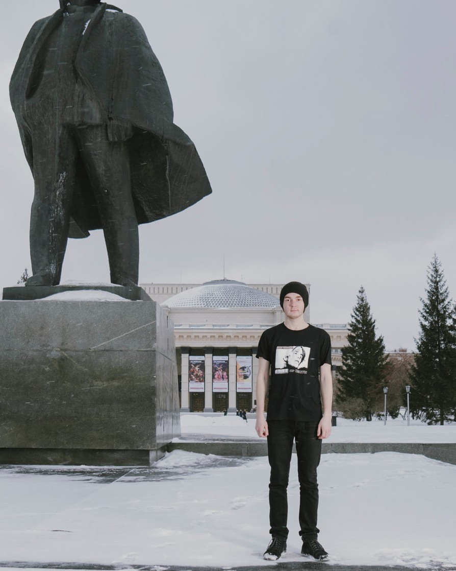 Novosibirsk, 02/2018. Dmitry Fedorov, born in Novosibirsk 29/09/99.