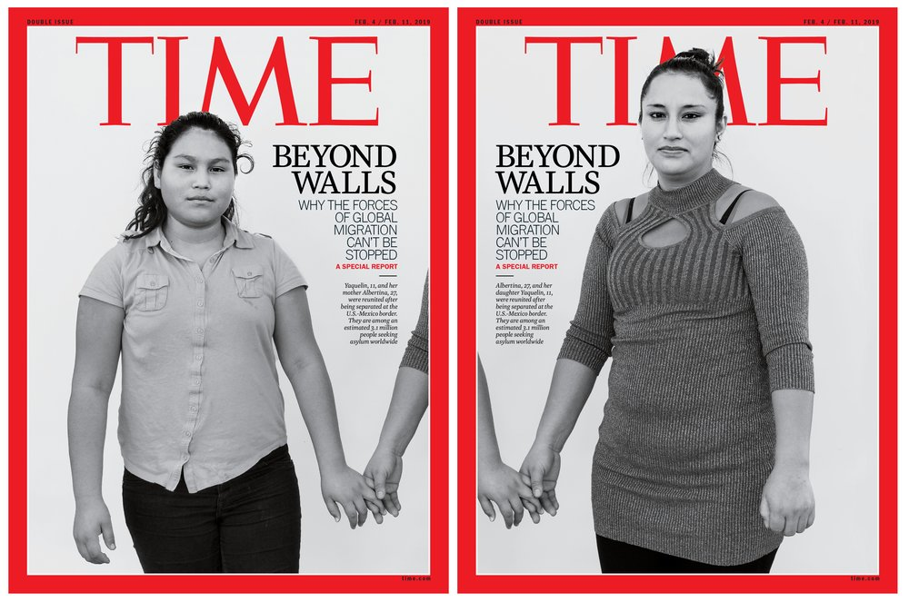 The story on Time Magazine