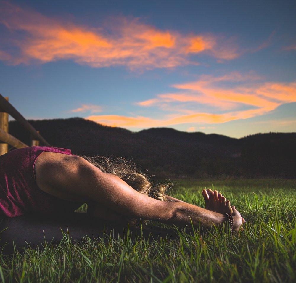 Kleine Yogapause