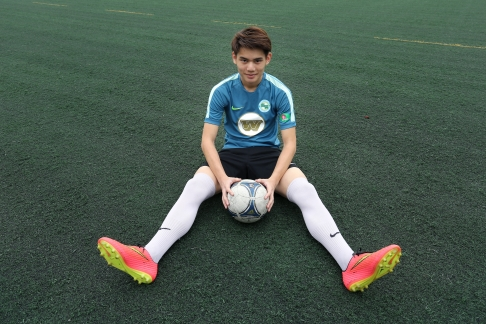 Philip Wong was seen as a promising star before his graduation from Diocesan Boys' School last year.