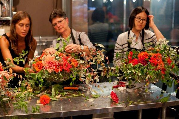 Ariella Chezar At Flowerschool New York Jane Guerin Flowers