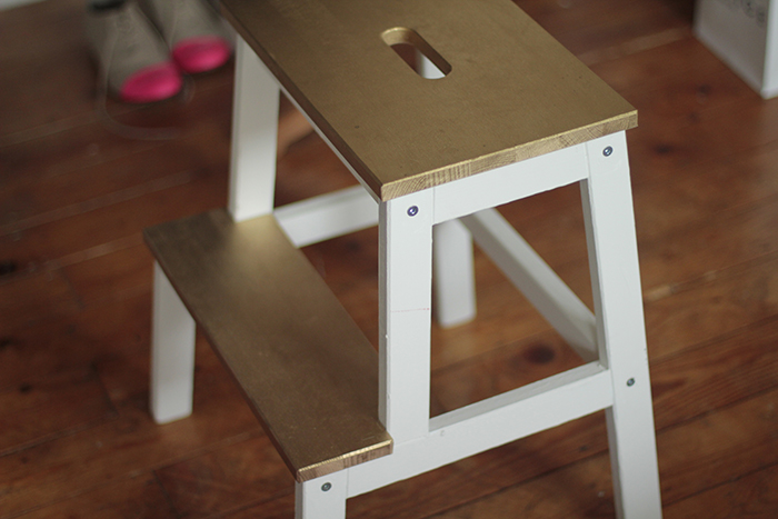 gold-ikea-stepstool