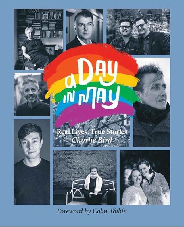 I didn't get to vote in the #marriageequality referendum last year because I was living in California. When I came home in October the first job handed to me in work was to design a logo for Charlie Bird's new project #ADayInMay. The project grew and I spent the last five months designing this beautiful book. Go out and pick up a copy in celebration of love for all. All proceeds go towards Console. - - - #marriage #equality #lgbti #lgbt #referendum #design #adayinmay #charliebird #bookdesign #bookcover #language #irishdesign #merrionpress #rainbow #pride #console #charity #suicideawareness