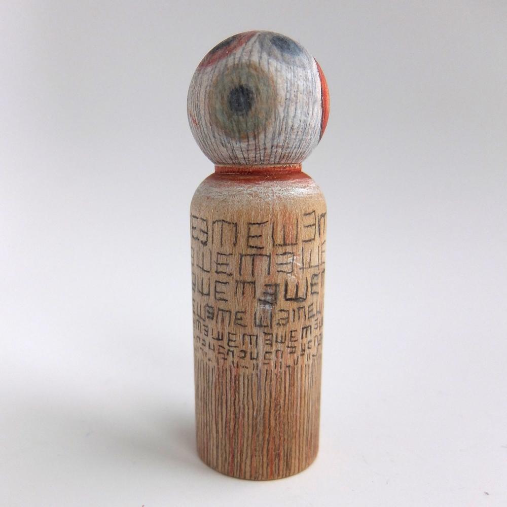 Eyeball Series: #1, side view