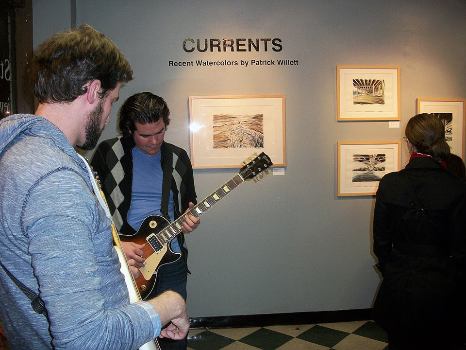 Musicians entertaining at Currents, by Patrick Willett