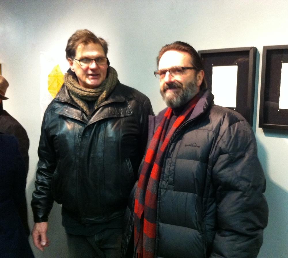 Bruce Adams and Ed Cardoni