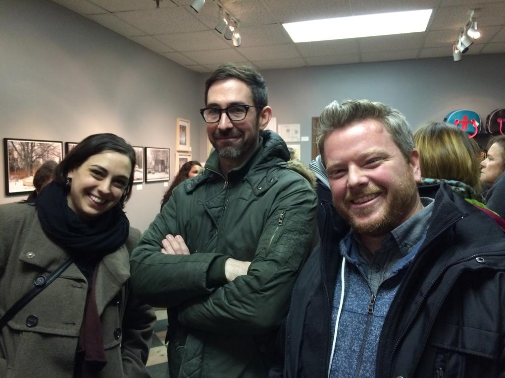 Elizabeth Switzer, Adam Weekly, and Matt Kenny