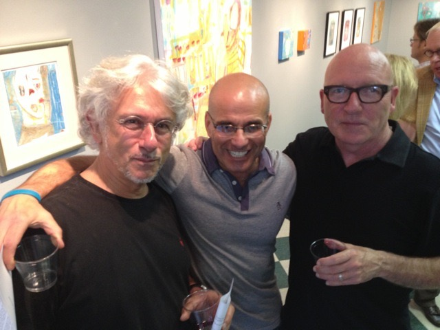 Vincent Buscaglia, Mark Palmer, and Lawrence Brose