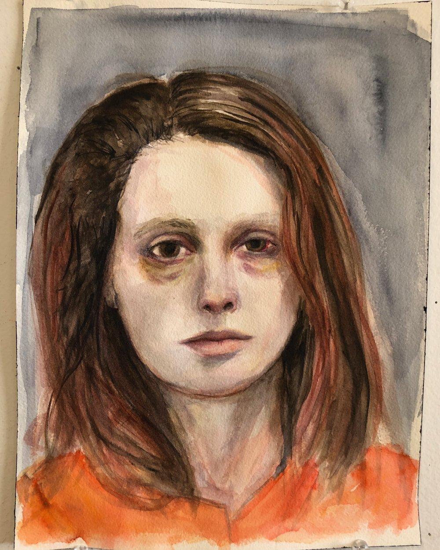 Mugshot Portrait
