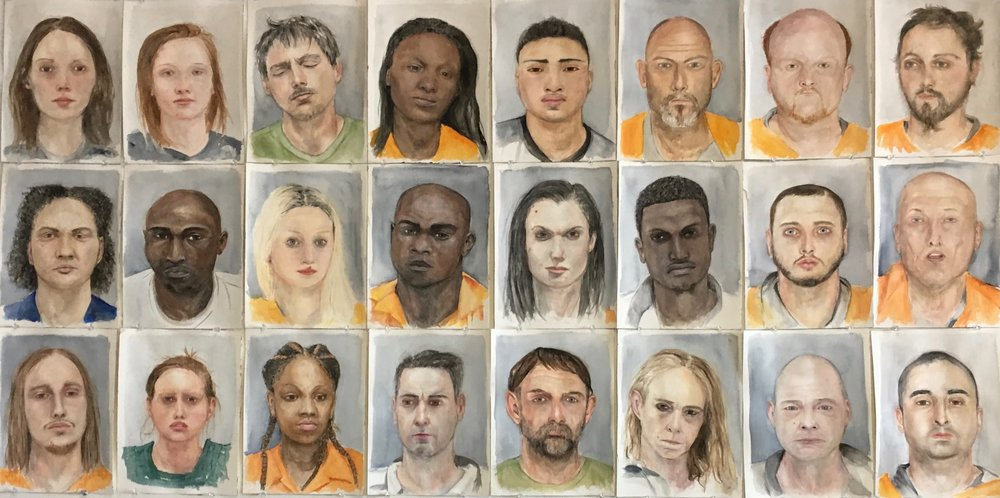 Mugshot Portraits