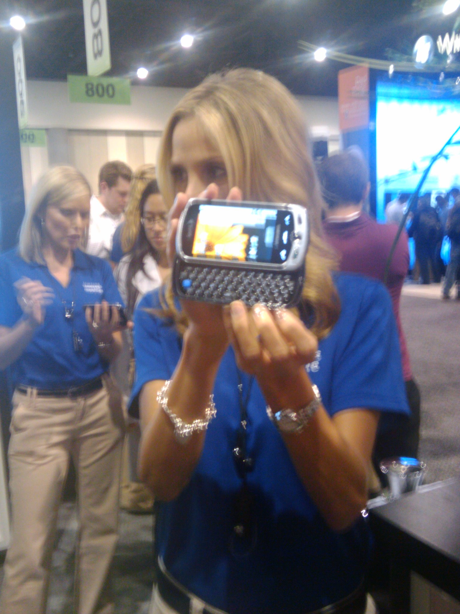 Samsung Moment at CTIA