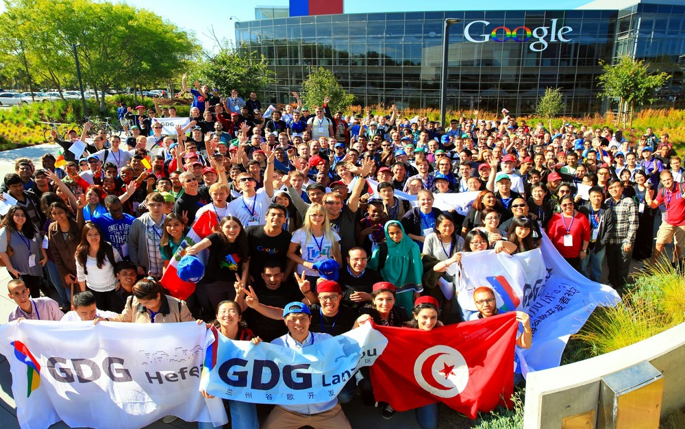 Group photo at GDG World-wide Summit