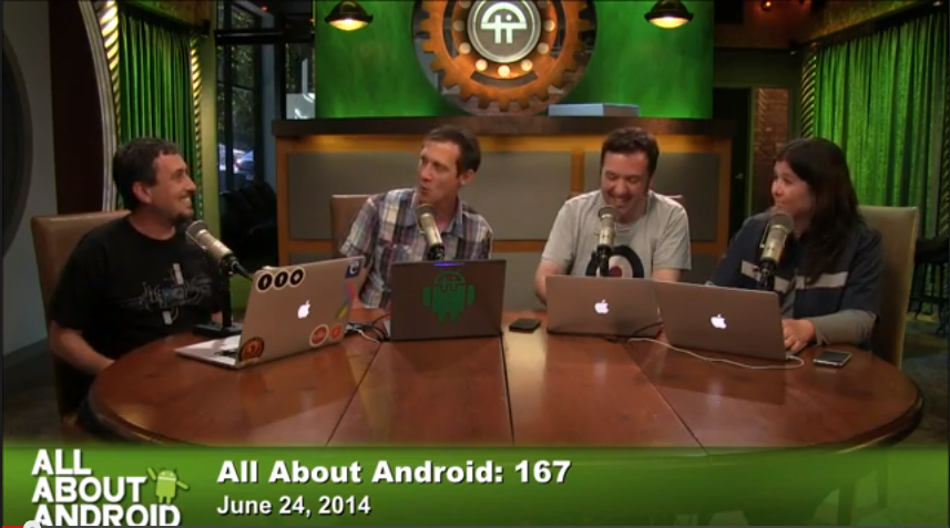 All About Android 167: Fast and hard - with hosts: Jason Howell, Ron Richards, Gina Trapani and Bryan Burnett