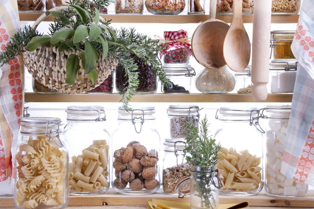 Kitchen staples -