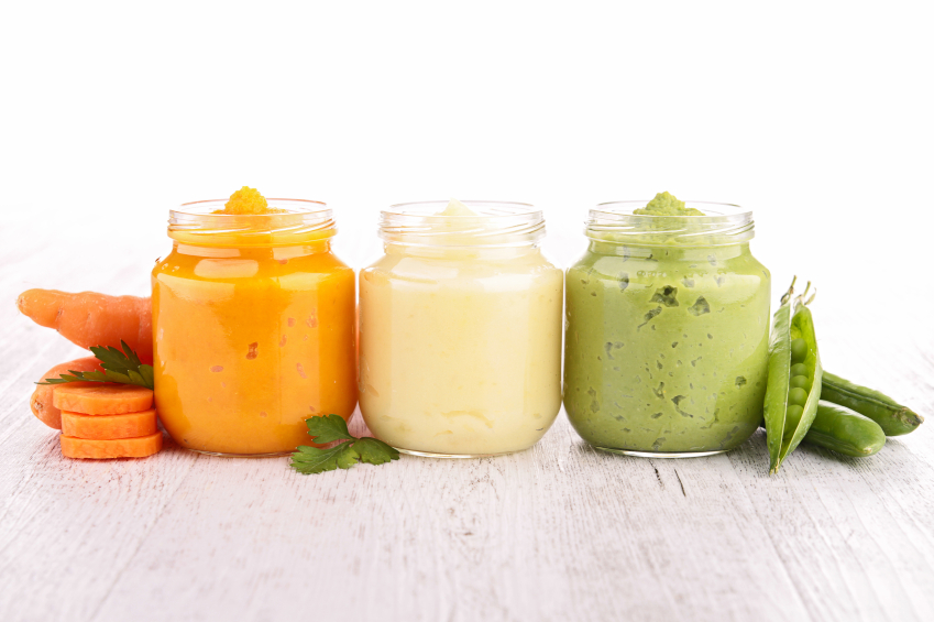 Making your own baby food in 4 easy steps -