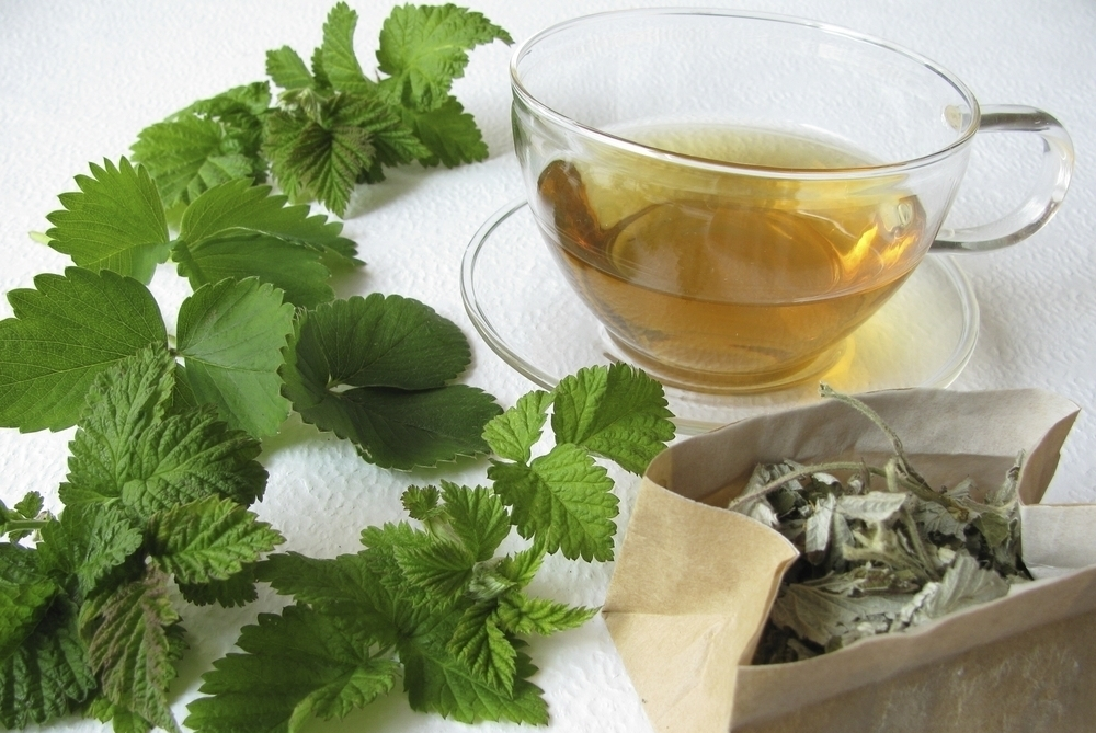 Early labor relaxation tea -