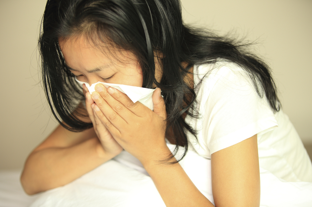 How many times is considered normal to get colds and flu's? -
