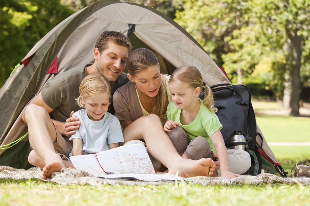 5 tips for camping with kids -