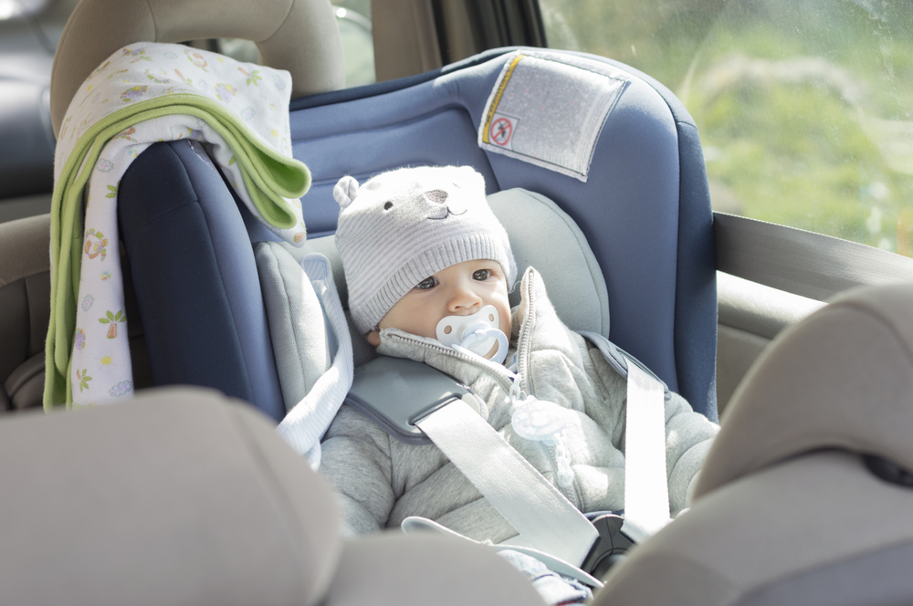 How long can by child sit in a car seat? -