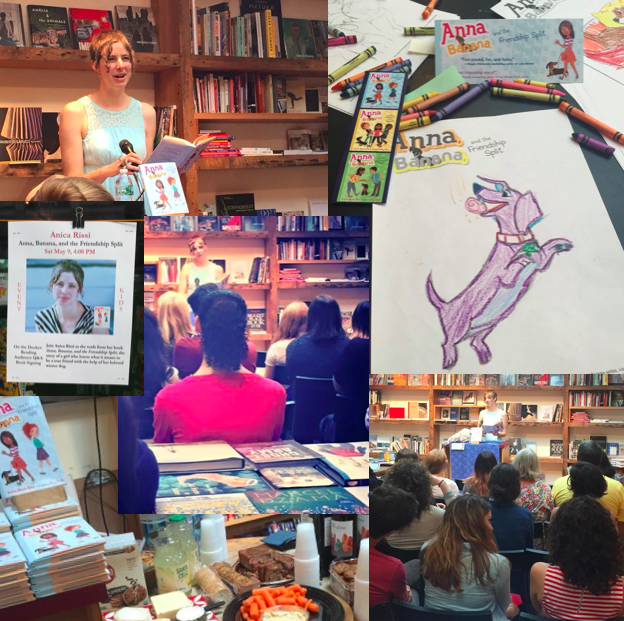 Book release party at BookCourt in Brooklyn, NY (May)