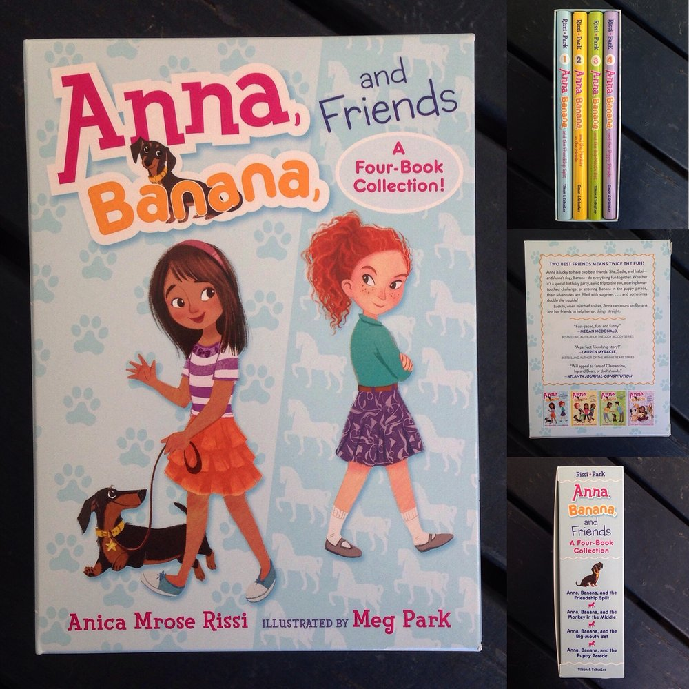 Anna, Banana hardcover boxed set!