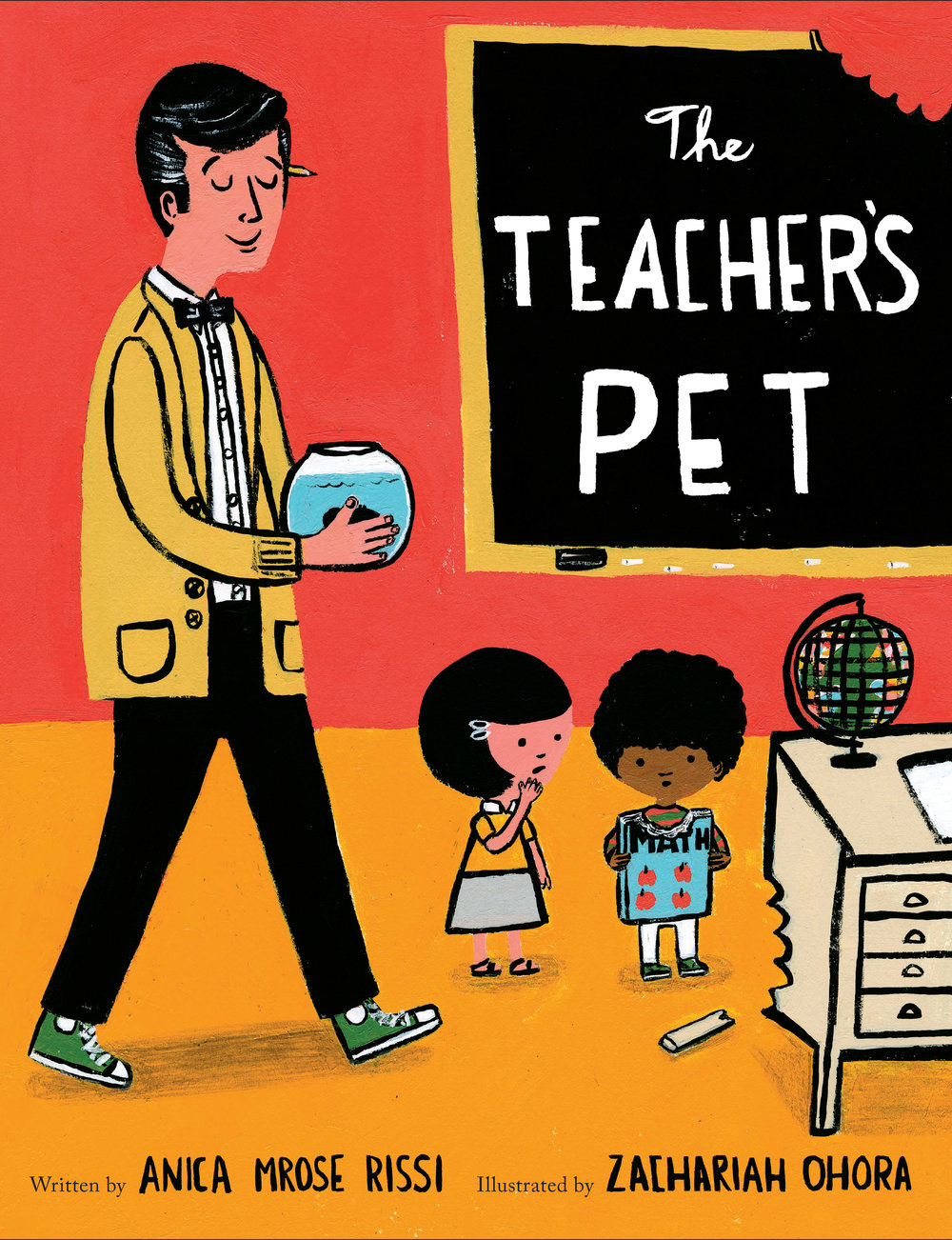 The Teacher's Pet by Anica Mrose Rissi illustrated by Zachariah OHora.jpg