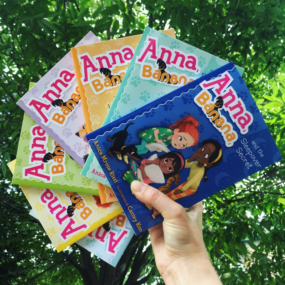 Anna, Banana chapter-book series by Anica Mrose Rissi.JPG