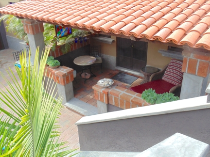 Patio from Above