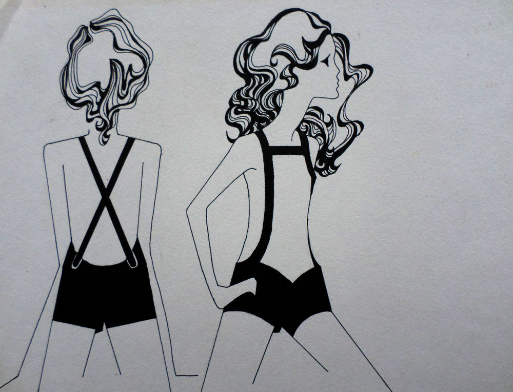 Original Fashion Illustration 3
