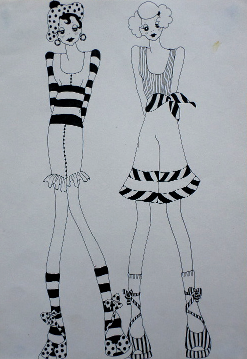 Original Fashion Illustration 7