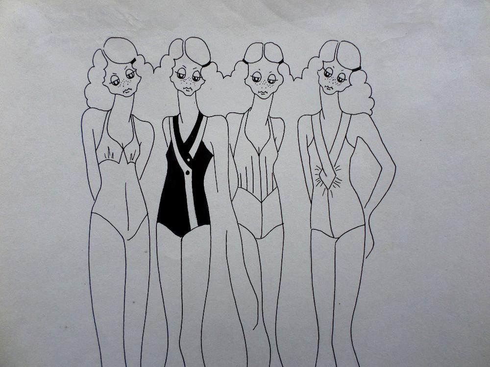 Original Fashion Illustration 8