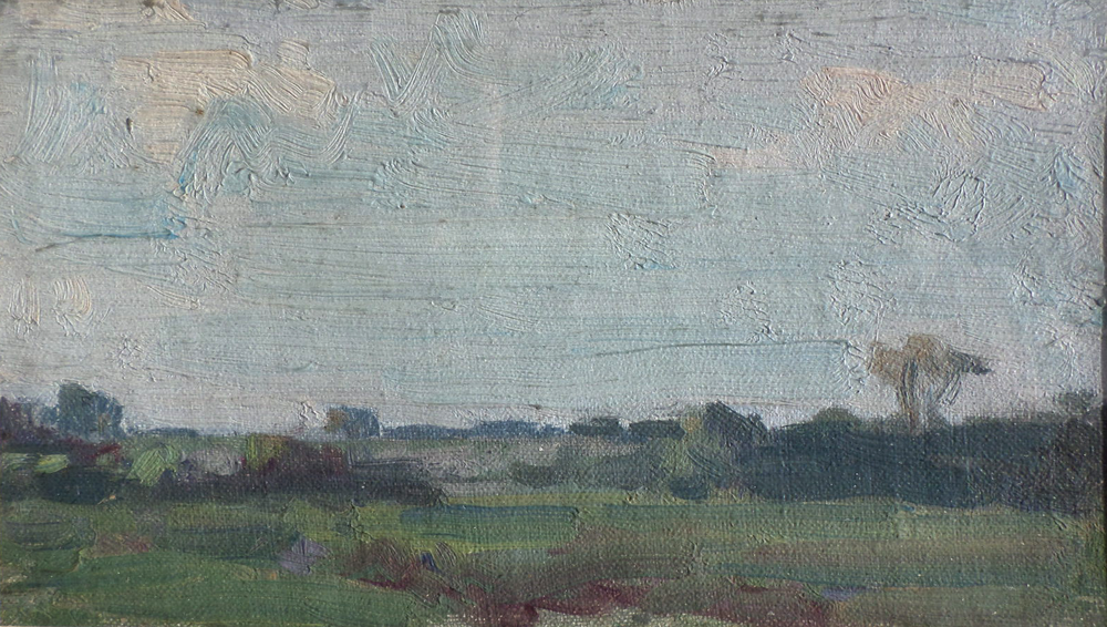harry becker oil Landscape