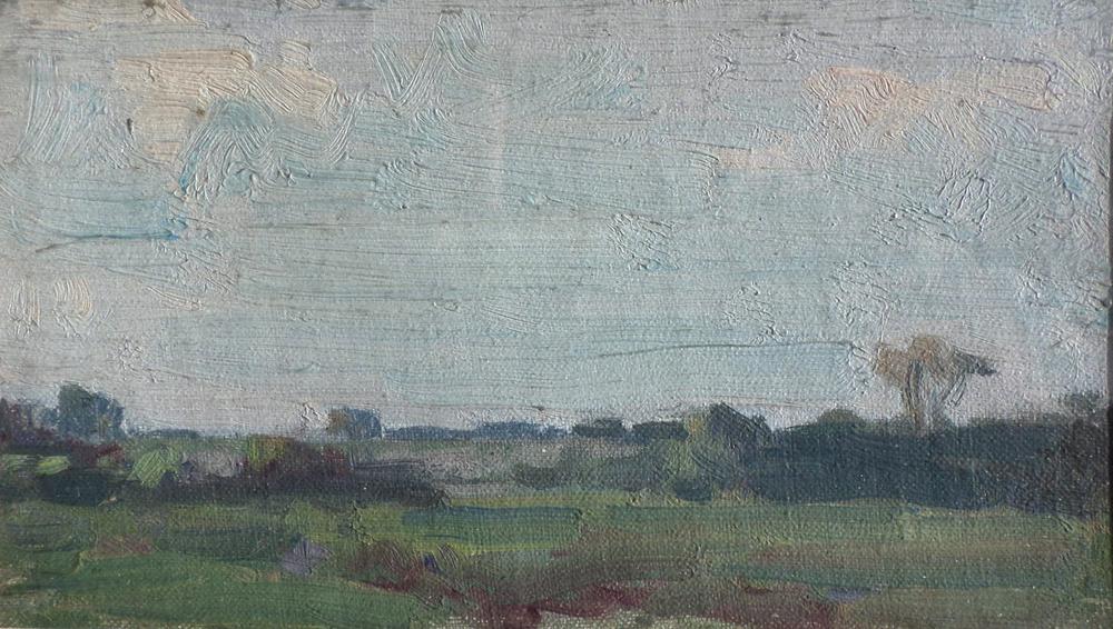 harry becker oil Landscape