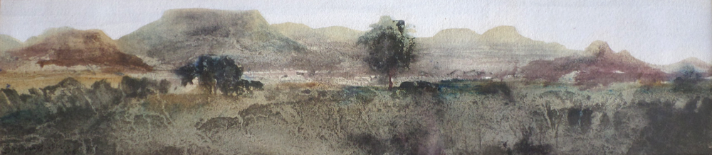 John Knapp-Fisher Watercolour Landscape for sale