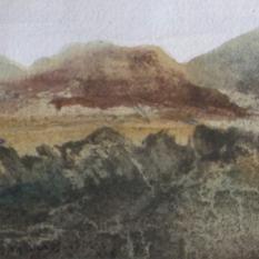 John Knapp-Fisher Watercolour 1976
