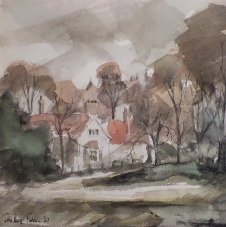 John Knapp-Fisher watercolour