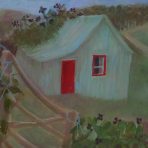 "Titled ""The shed"" 2013"