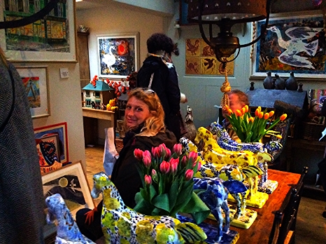 Mark Hearld & Emily Sutton Open Studio