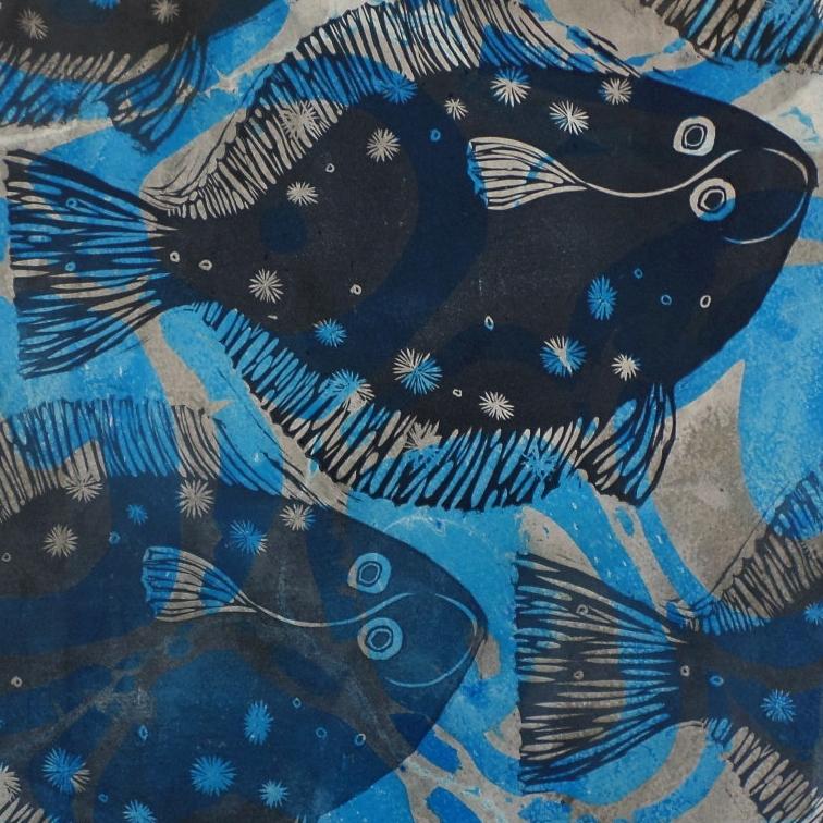Blue Plaice-sold