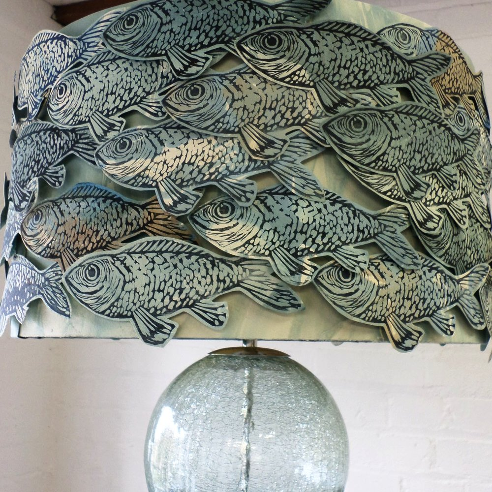 Fish Lampshade-sold