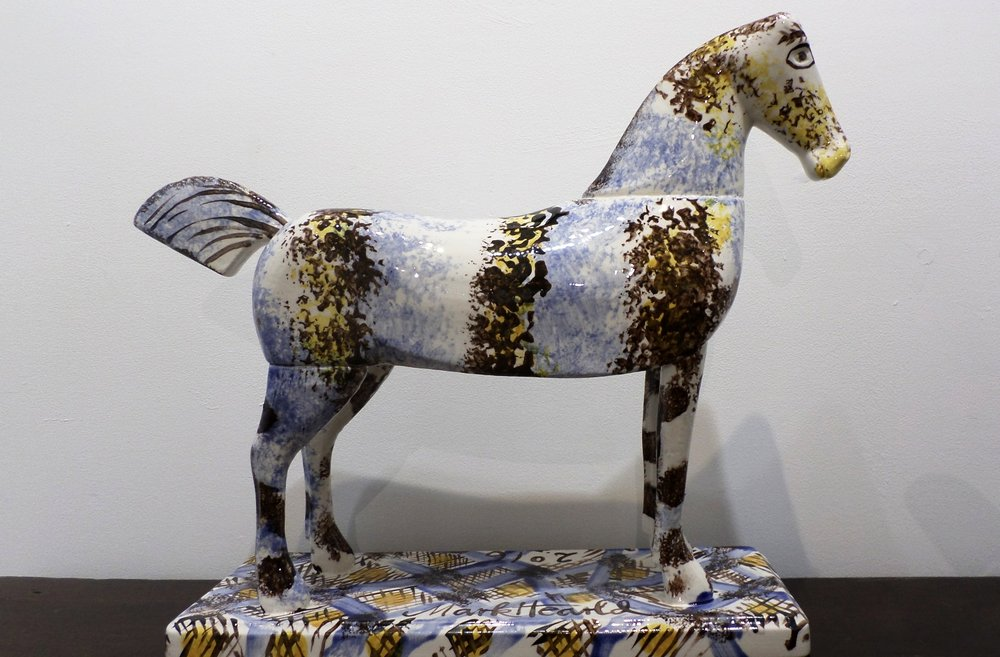 Mark Hearld Ceramic Horse