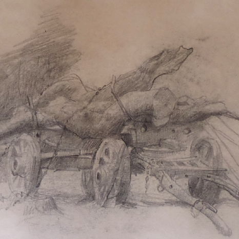 SOLD - Logging Cart
