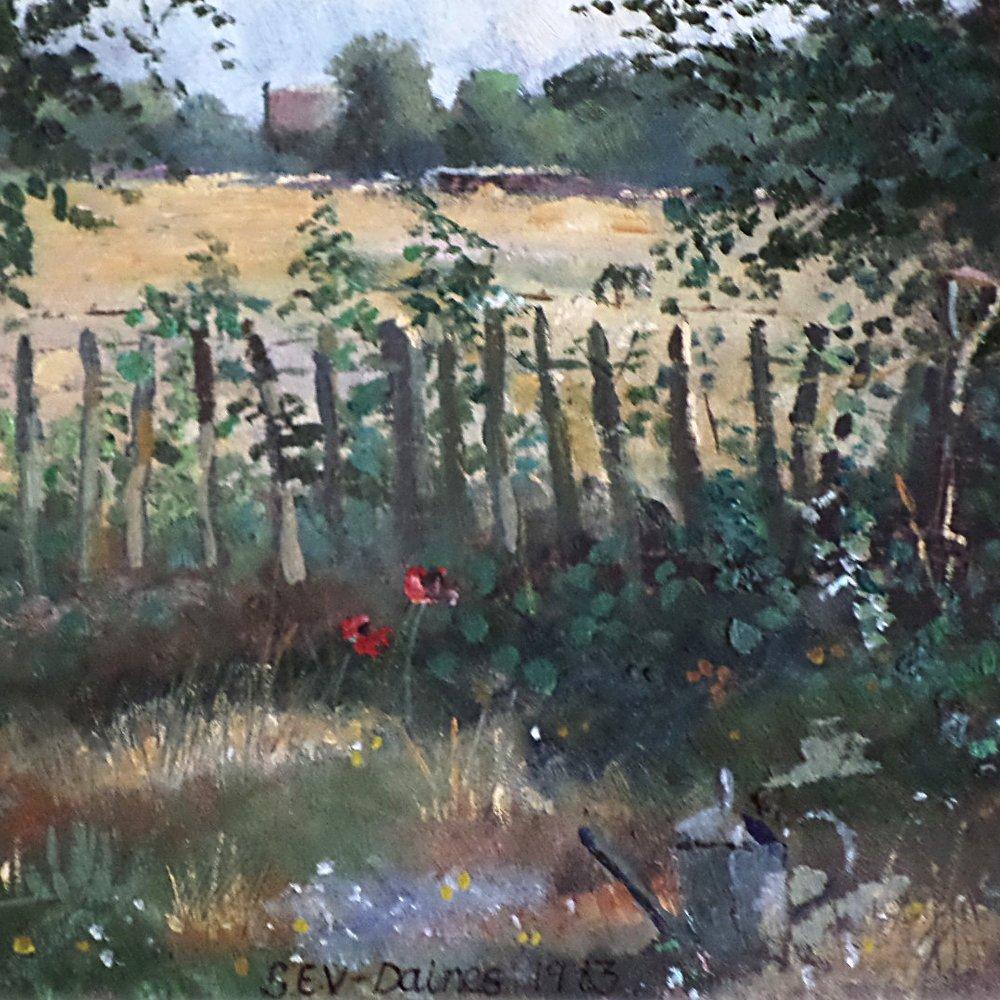"""""""Garden"""" -Original Oil 1983"""